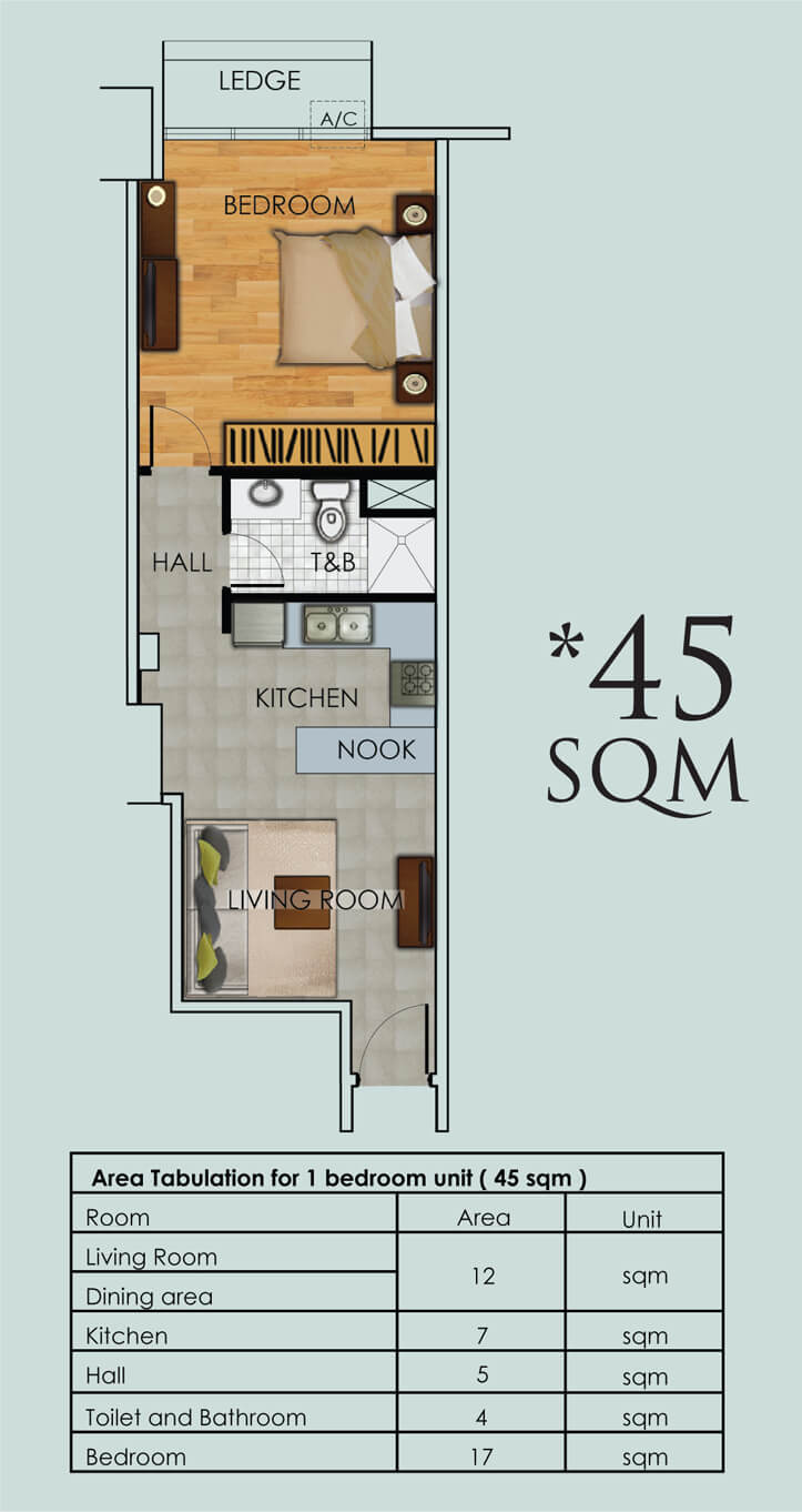 one-bedroom-45sqm