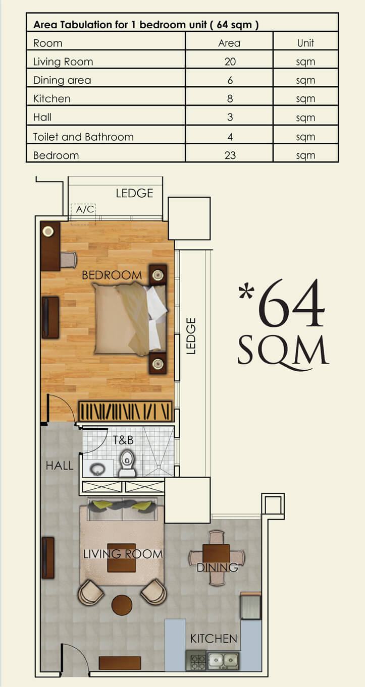 one-bedroom-64sqm