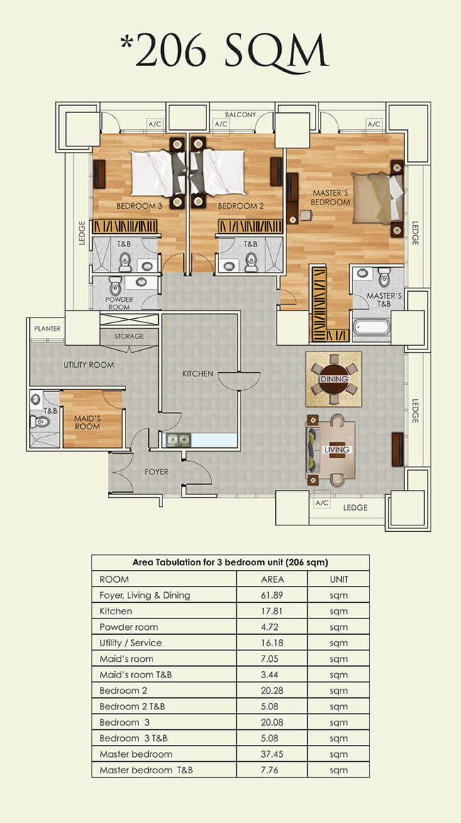 three-bedroom-206sqm